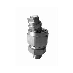 Adjustable swivel joint water jet uni flat fan nozzle